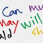 英語の15個の助動詞が今すぐ分かる一覧と使い方