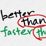 英語の比較級|簡単な3つのパターンとよく使う比較級一覧
