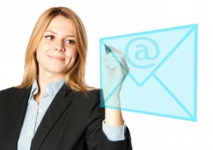 英語でのビジネスメールのイメージ