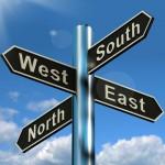 「東西南北」を英語で表現|正しい順番を1分で覚える!