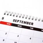 「9月」を英語で表現|発音や略と同時に豆知識も習得する!