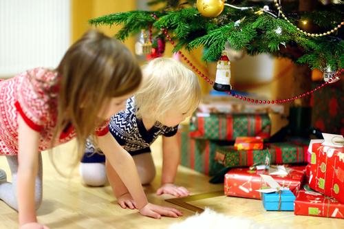 christmas present open
