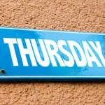 「木曜日」の英語|正しい発音と3つの略を簡単マスター!