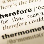 「therefore」の意味と使い方|7つの類語と例文一覧