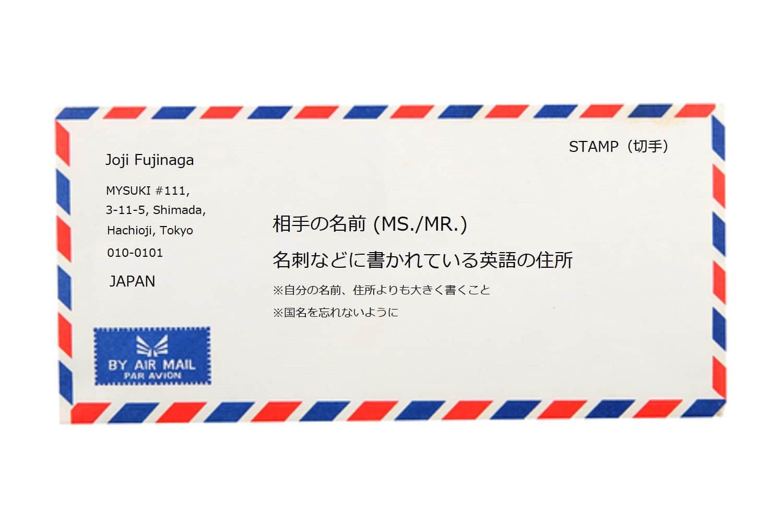 書き方 英語 住所